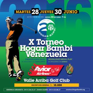 X Torneo de Golf